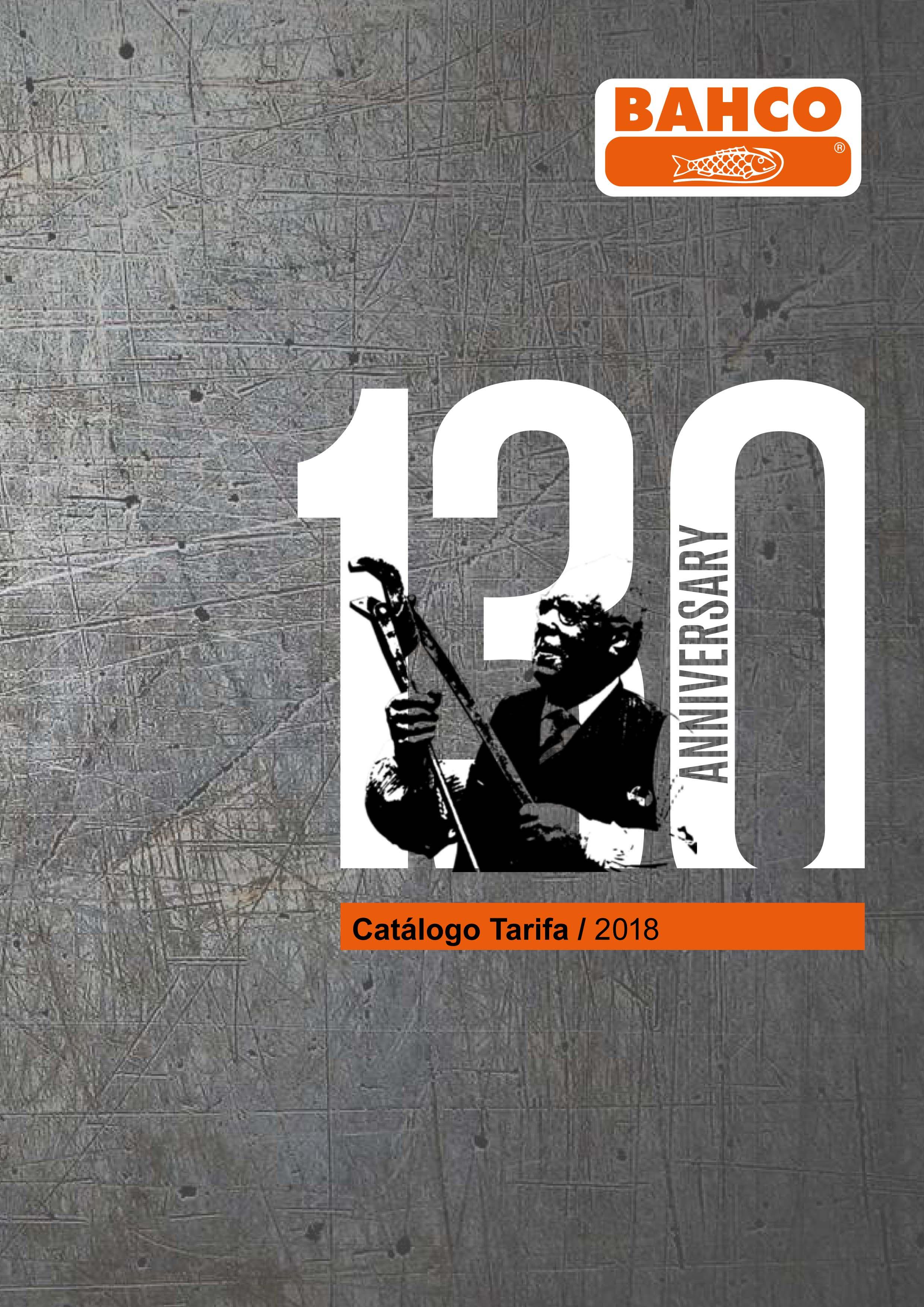 Catálogo-Tarifa Bahco 2018-1